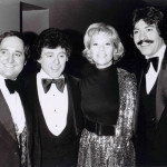 Neil with Frankie Valli, Dinah Shore and Tony Orlando