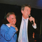 Neil with David Foster