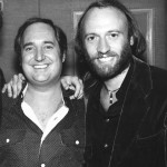 Neil with Maurice Gibb