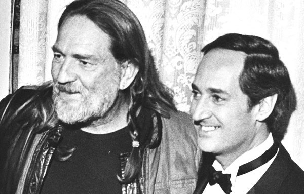 Neil and Willie Nelson