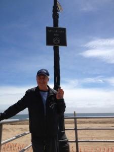 On the Boardwalk.