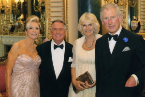 w/Their Royal Highnesses - June 22, 2013